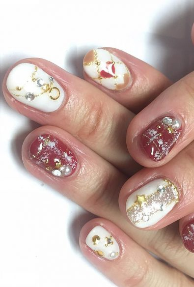 43-colorful-winter-nail-models-and-care