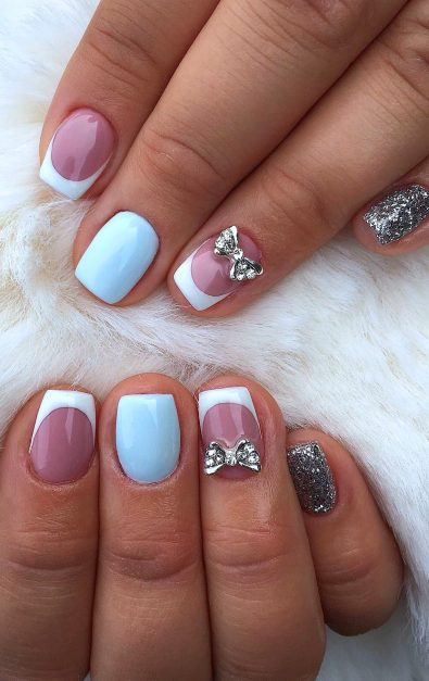 2019-summer-seasonal-long-and-short-acrylic-polished-matte-and-coffin-nail-designs