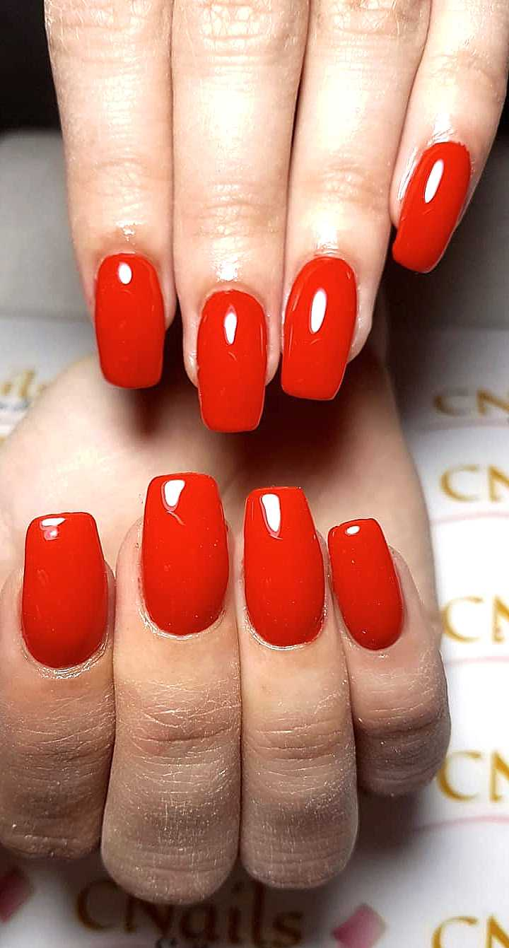 30 Acrylic, Polish, Matte and Simple Red Nail Designs