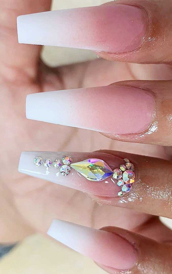 22 Long Acrylic Nail Design In Stiletto And Coffin Shapes
