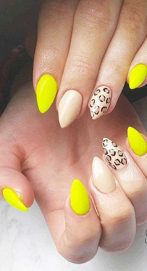 Colorful Gel Nail ideas Suitable For Summer For Well Groomed